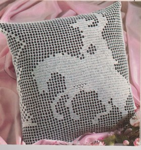 3 Recommended Designs of Crochet Patterns for Pillow Covers Pdf Digital Download Vintage Crochet Pattern To Make A Cowboy Or