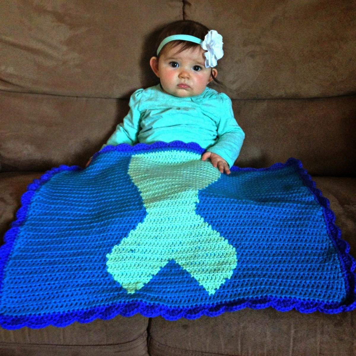 Amazing Crochet Mermaid Pattern for Baby's Mermaid Tail Free Crochet Mermaid Tail Blanket Pattern Thefriendlyredfox