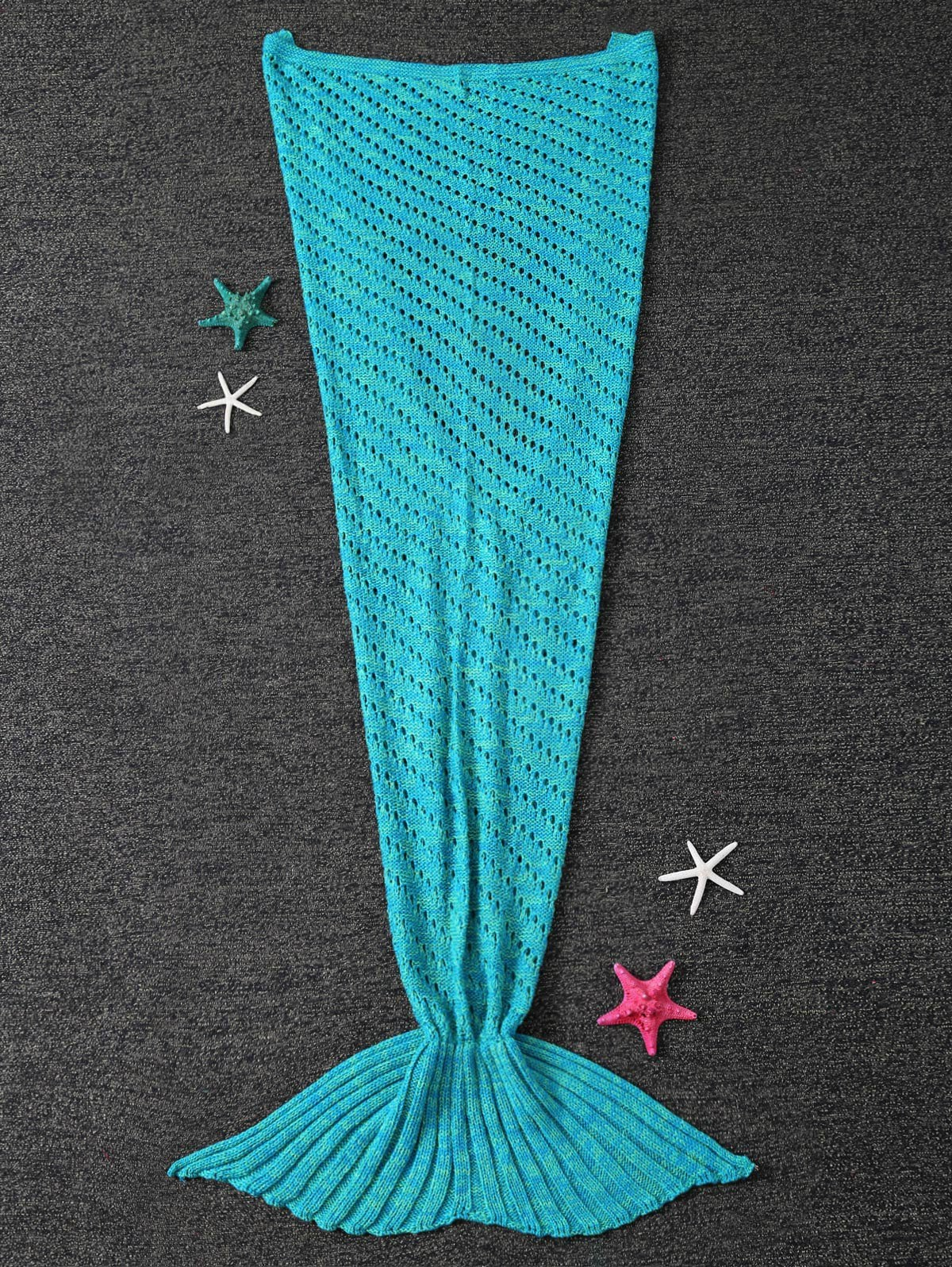 Amazing Crochet Mermaid Pattern for Baby's Mermaid Tail Girls Crochet Mermaid Tail Blanket Knitting Pattern Blue Knit For