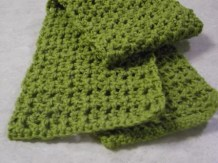 Crochet Muffler Pattern Free Crochet Scarf Pattern Lovetoknow