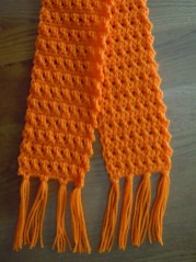 Crochet Muffler Pattern Scarf Crochet Pattern Crossed Double Crochet Stitch