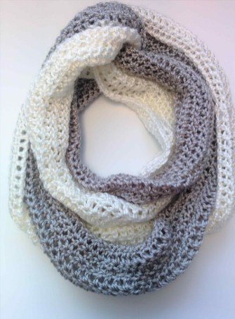 Easy Infinity Scarf Crochet Pattern Infinity Scarf Patterns For Beginners Easy Great Youtuberhyoutubecom