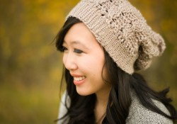 Easy & Simple Slouchy Crochet Hat Patterns Cabled Slouchy Beanie All About Ami