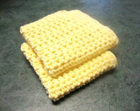 How To Make A Crochet Pattern How To Make A Crocheted Dishcloth Easy Pattern Using Half Double