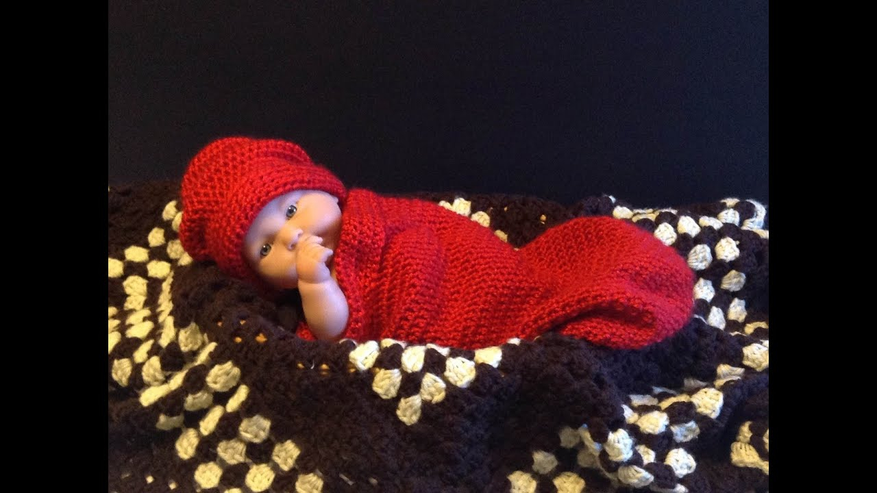 List of Easy Baby Cocoon Crochet Pattern How To Crochet Ba Cocoon Hat How To Crochet Crochet Ba