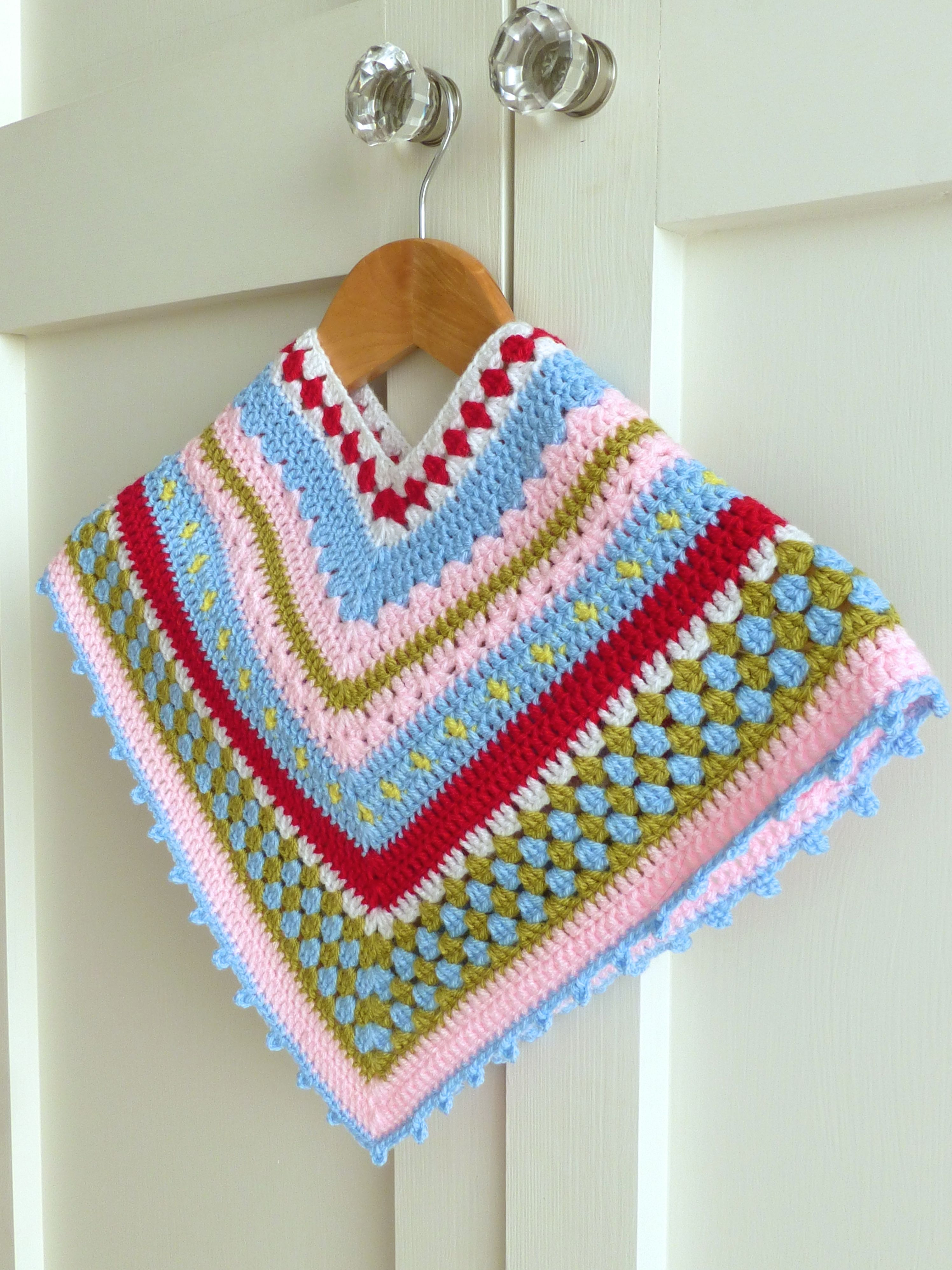 List of Free Crochet Patterns for Toddlers Ponchos Greengate Style Ba Toddler Girls Crochet Poncho Sewchet