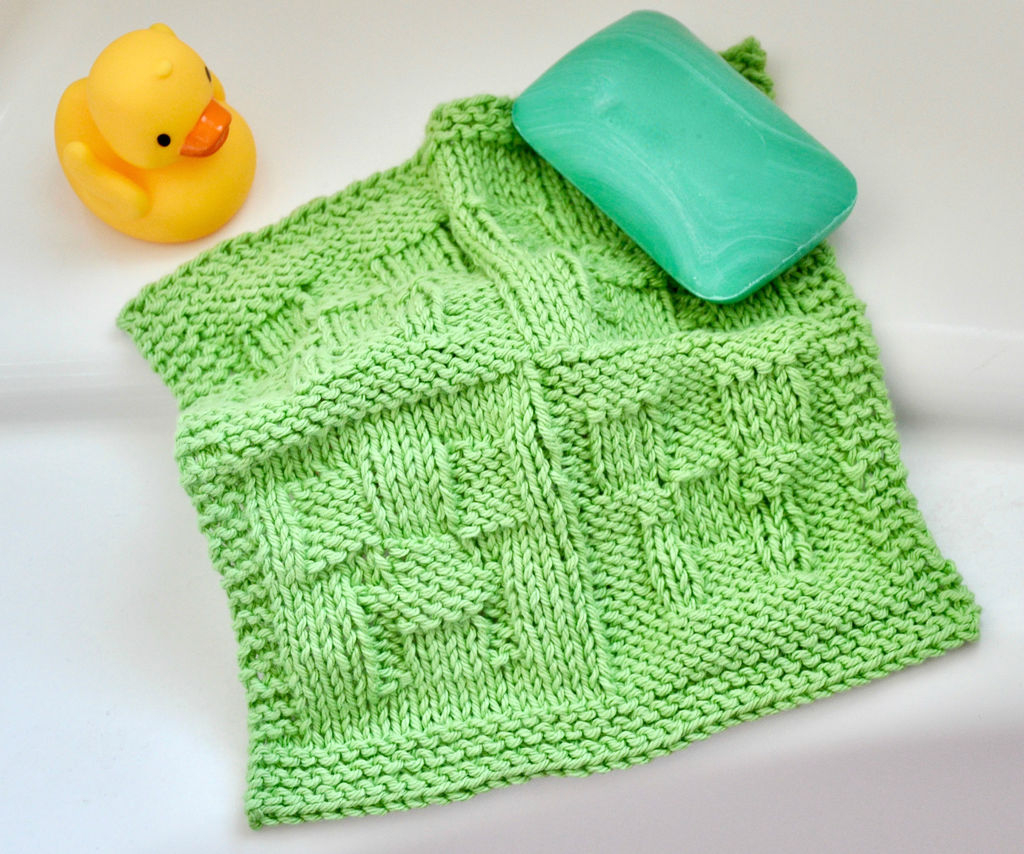 Making Cute Minecraft Creeper Crochet Pattern Knit Minecraft Creeper Washcloth 5 Steps With Pictures