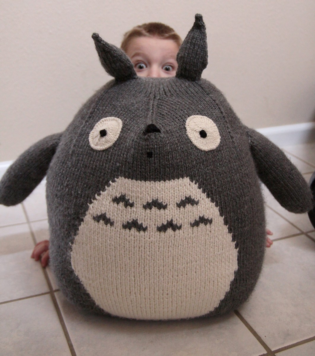 Quick Large Crochet Doll Patterns to Choose 9 Totoro Knitting Pattern The Funky Stitch