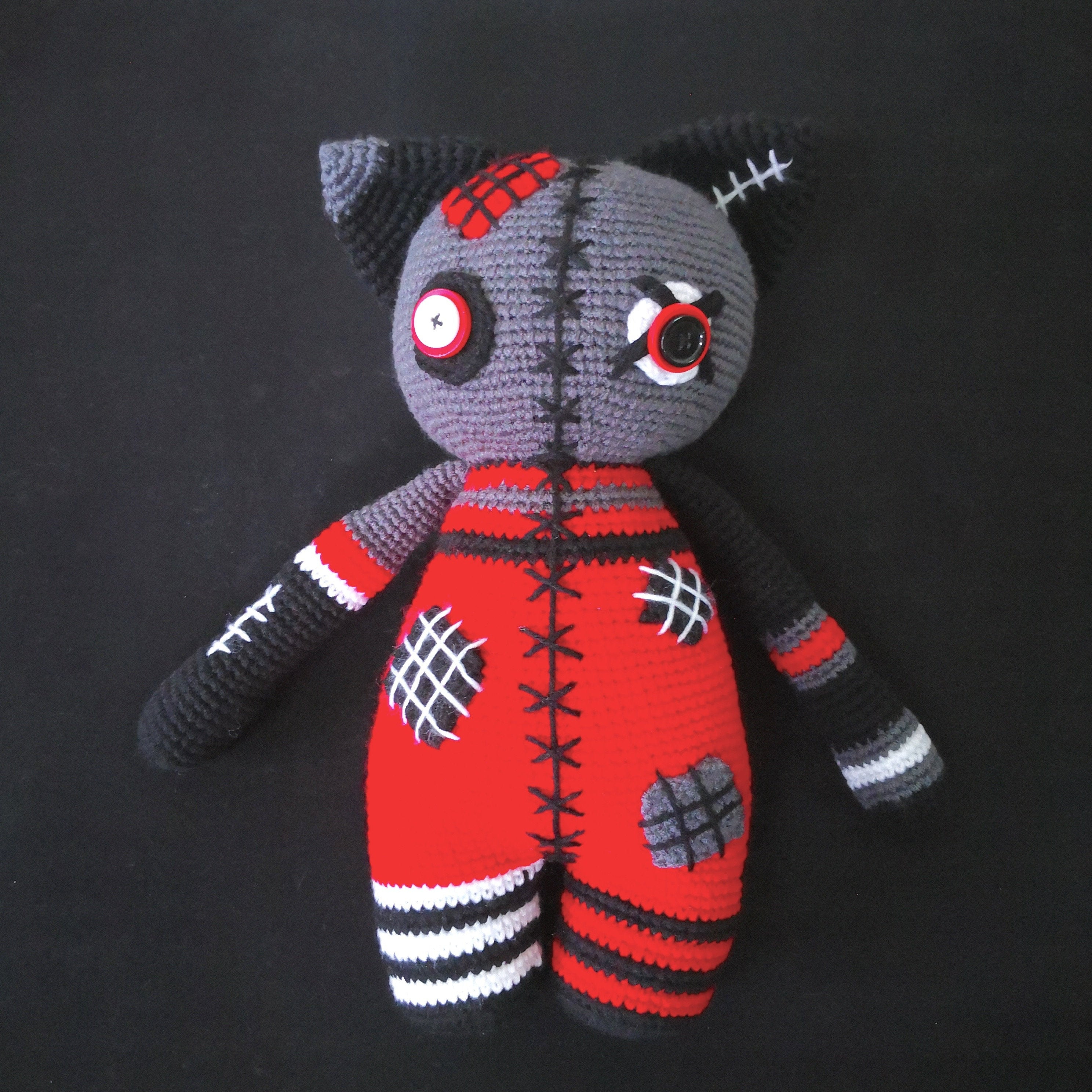 Quick Large Crochet Doll Patterns to Choose Crochet Doll Pattern Large Cat Amigurumi Cat Pattern Zombie Etsy