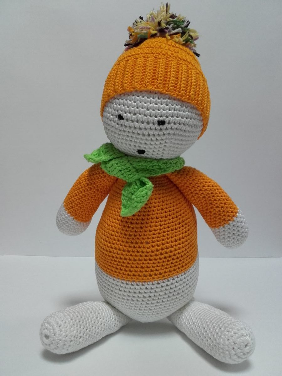 Quick Large Crochet Doll Patterns to Choose Large Doll Lamalka