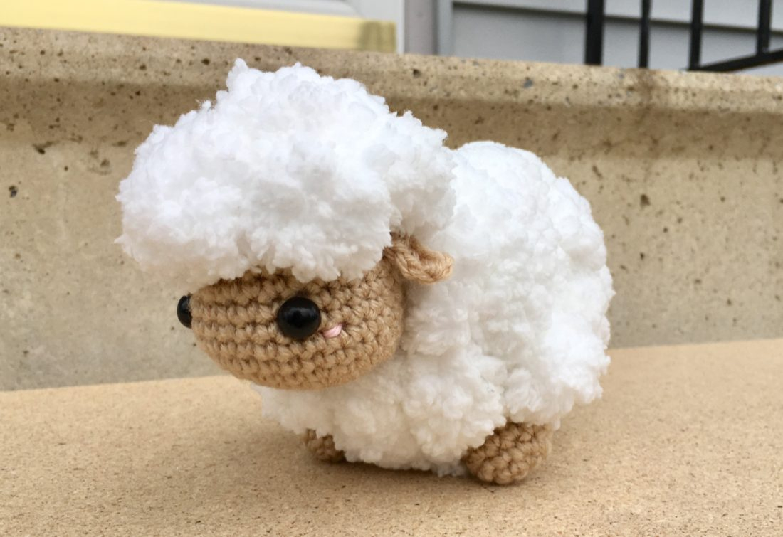 The Sweetest Crochet Lamb Patterns for Free Amigurumi Little Lamb Crochet Pattern Crafty Kitty Crochet