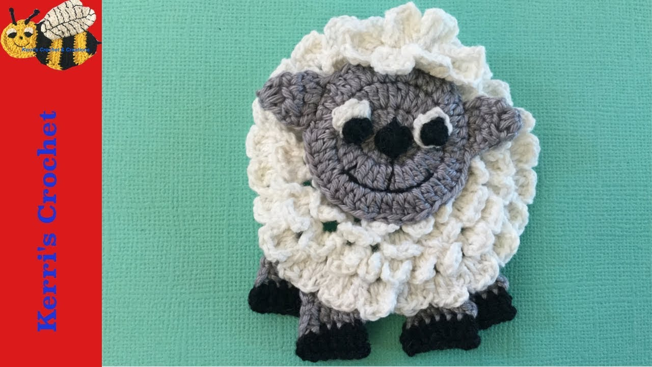 The Sweetest Crochet Lamb Patterns for Free Crochet Sheep Tutorial Youtube
