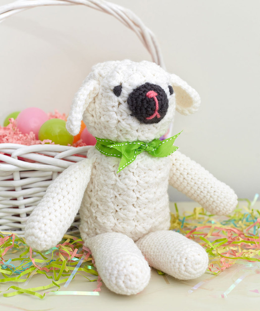 The Sweetest Crochet Lamb Patterns for Free Little Lamb Free Crochet Pattern Crochet Kingdom