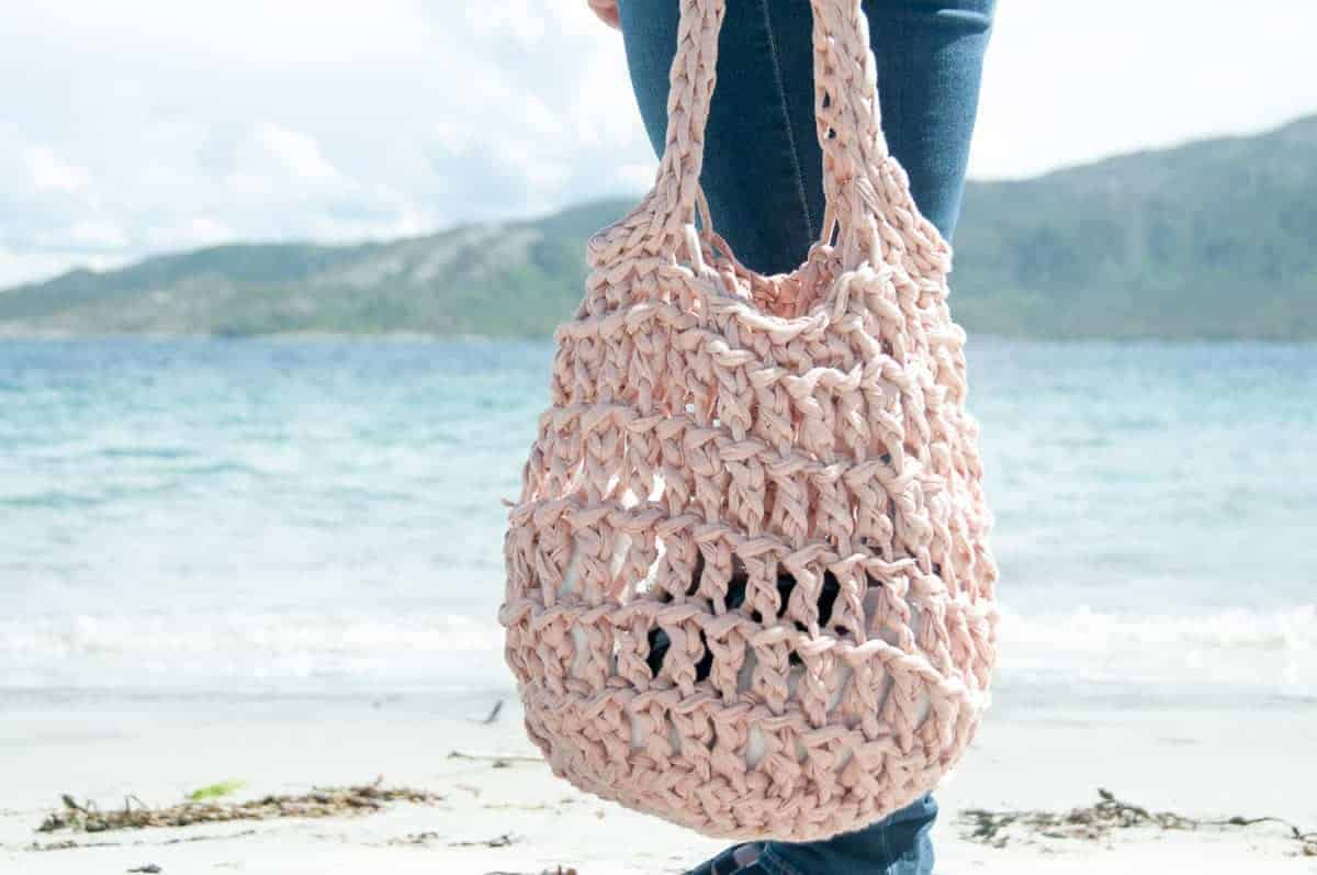 Tote Bag Patterns and Ideas that You Will Adore Litus Beach Bag Crochet Pattern Easy Crochet Pattern Joy Of Motion