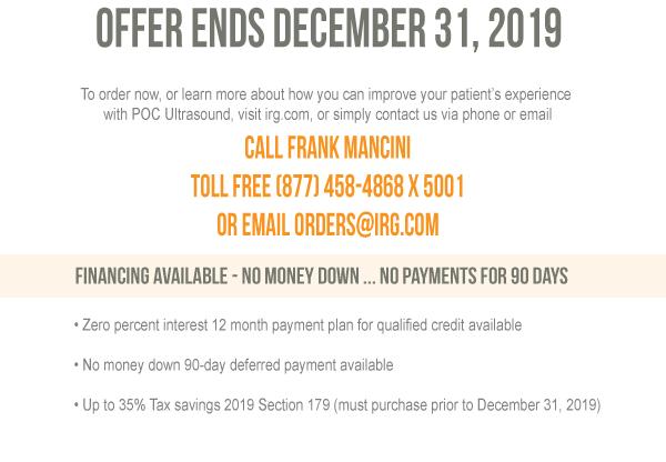 Offer Ends December 31, 2019