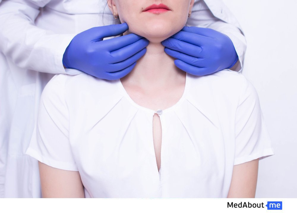 How to correctly determine the location of lymph nodes on the neck