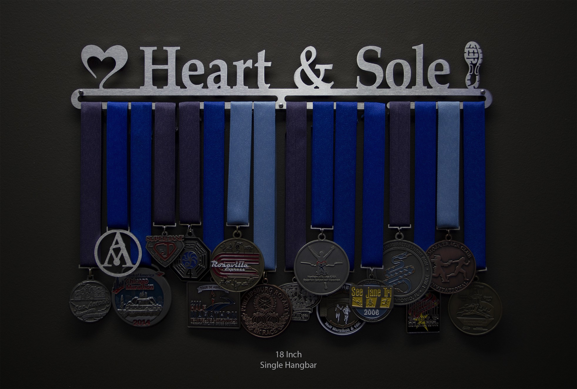 Heart And Sole Sport Amp Running Medal Displays The