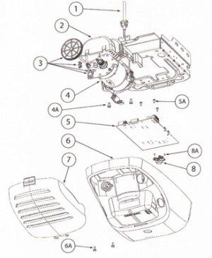 Medallion Compatible Garage Door Opener Parts  TriloG