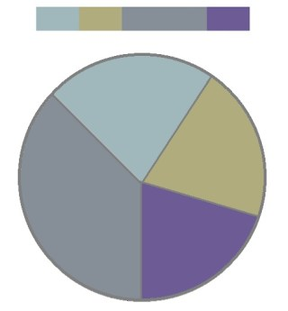 COLOR HARMONY PIE CHART