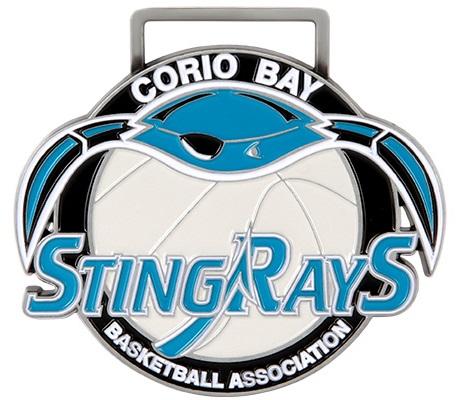 Medals Australia - Custom Designed Medals - Corio Bay Basketball