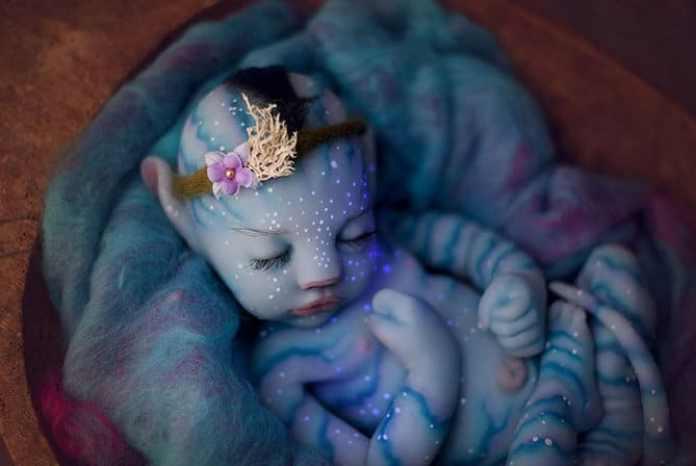 Boneka bayi Avatar buatan Babyclon. 2016 Instagram - Babyclon