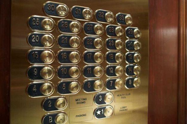 Ilustrasi lift Hotel tanpa lantai 13.(michaelmjc/Getty Images)