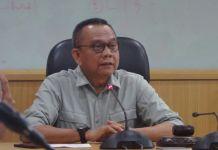 Wakil Ketua DPRD DKI Jakarta Mohamad Taufik di Gedung DPRD DKI Jakarta, Jalan Kebon Sirih, Kamis (19/10/2017). (KOMPAS.com/JESSI CARINA )