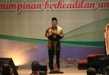 Ketua MPR RI, Zulkifli Hasan saat menghadiri Munas KAHMI yang Ke-10 di Hotel Santika, Jumat (17/11/2017).