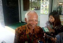 Kasmudjo, dosen pembimbing skripsi Presiden Joko Widodo semasa kuliah di Fakultas Kehutanan UGM.(KOMPAS.com/Wijaya Kusuma)