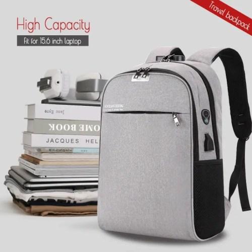 High volume capacity backpack