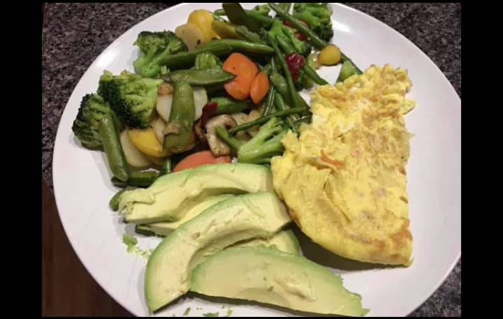 Healthy Nigerian food time table