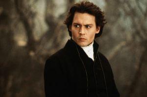 Johnny Depp as Ichabod Crane in Sleepy Hollow- Image from Fanpop.com
