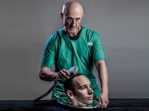 An image of Dr Sergio Canavero, the leading surgeon of the head transplant
