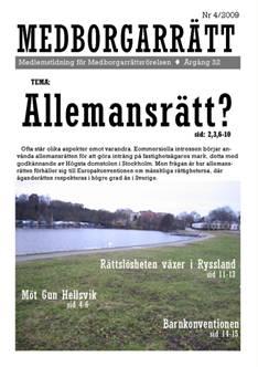 Medborgarrätt nr 4/2009