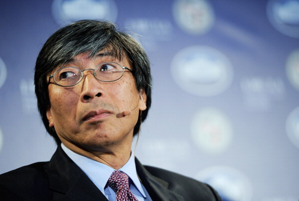 LOS ANGELES, CA - MARCH 22: CEO of Abraxis Health Institute Patrick Soon-Shiong during a Urban Economic Forum co-hosted by White House Business Council and U.S. Small Business Administration at Loyola Marymount University on March 22, 2012 in Los Angeles, California. Topics discussed at the forum included the Obama administration's support for policies that create private sector-jobs and future entrepreneurs. (Photo by Kevork Djansezian/Getty Images)