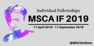 European MSCA 2019 Fellowship