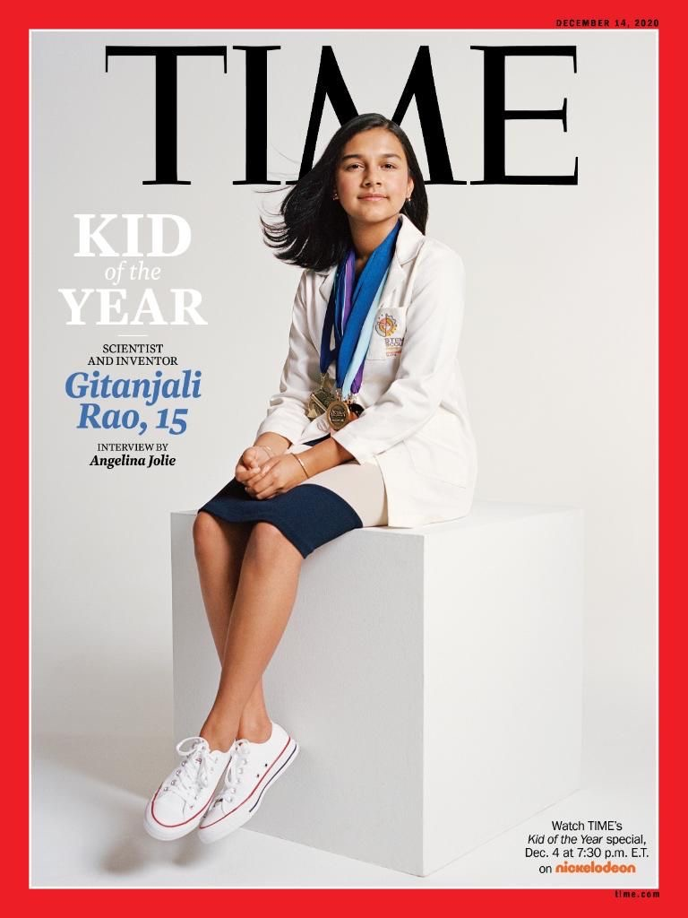 Gitanjali Rao is a Kid of the Year