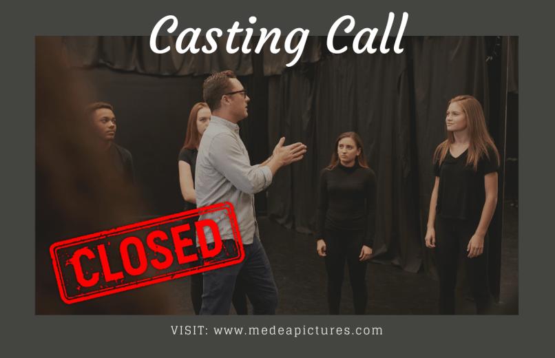 Casting Call - Medea Theater Team Closed