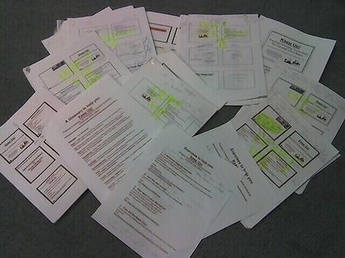 lecture handouts