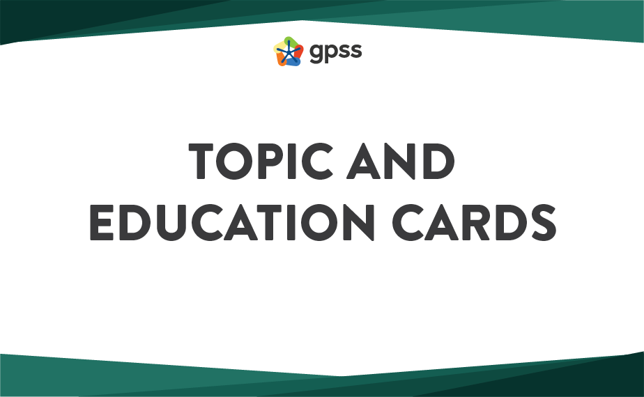 title card - topic & education 1