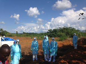IPC specialists to support Ebola Recovery
