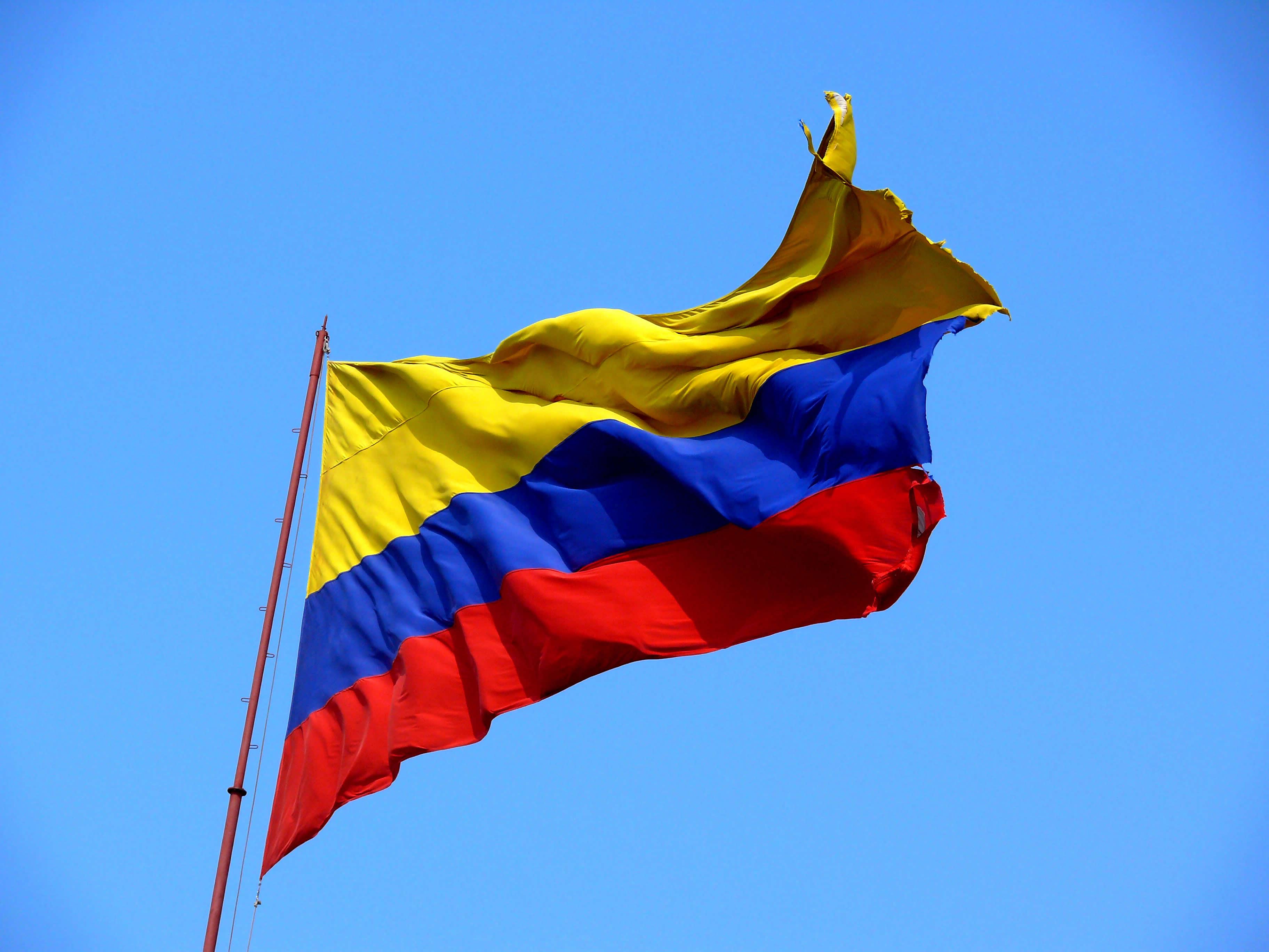 colombianflagflyinsky