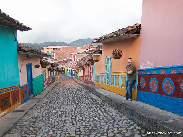 The prettiest street in Guatape