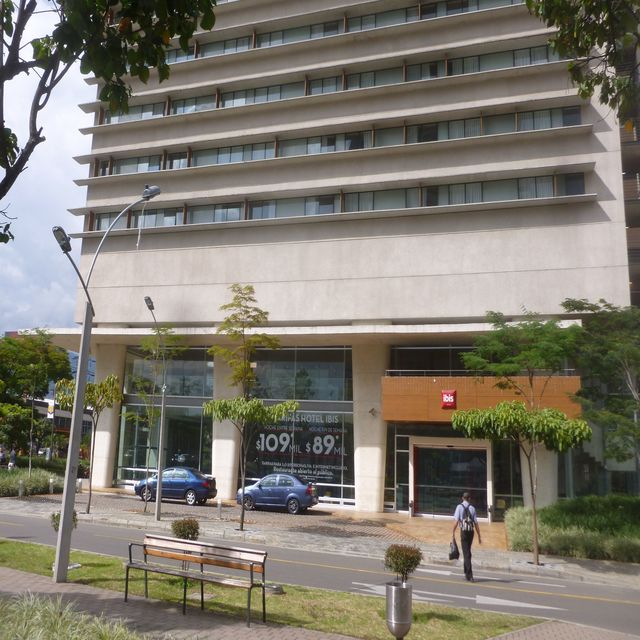 The Ibis is a great quiet option in Poblado.