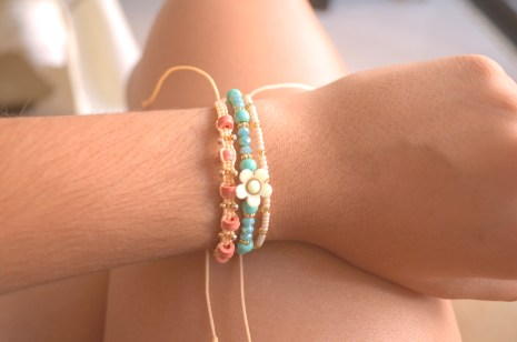 Delicate bracelets I ordered.