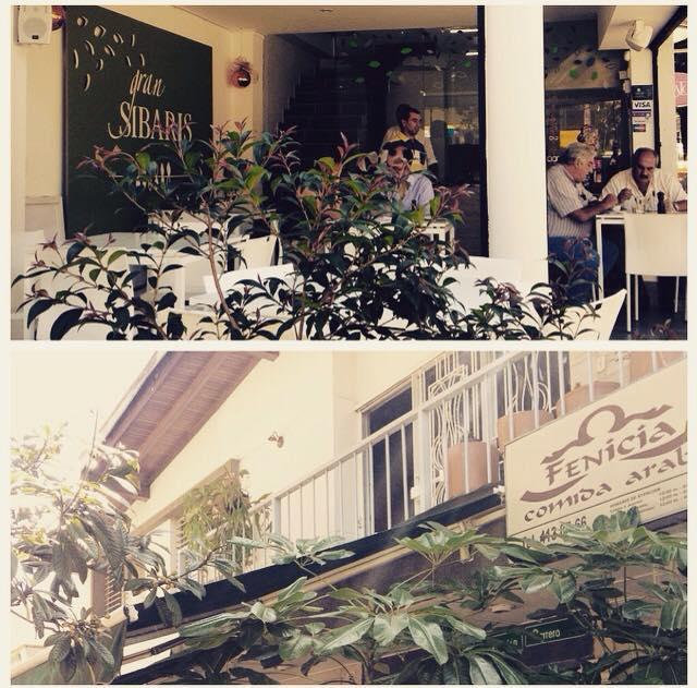 Gran Sibaris and Fenicia restaurants on Avenida Jardín