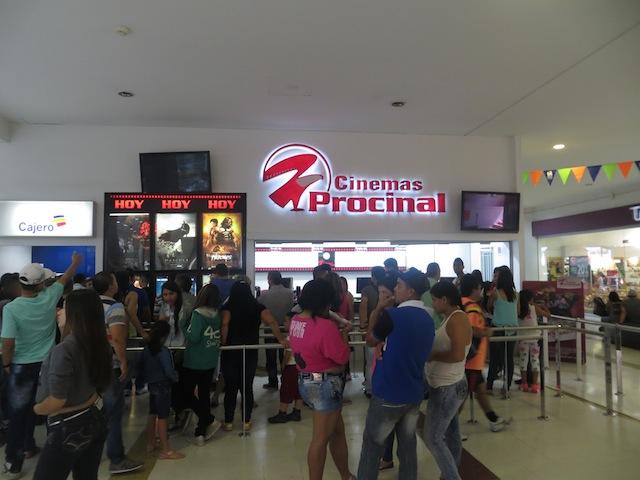 Cinemas Procinal in Puerta del Norte mall