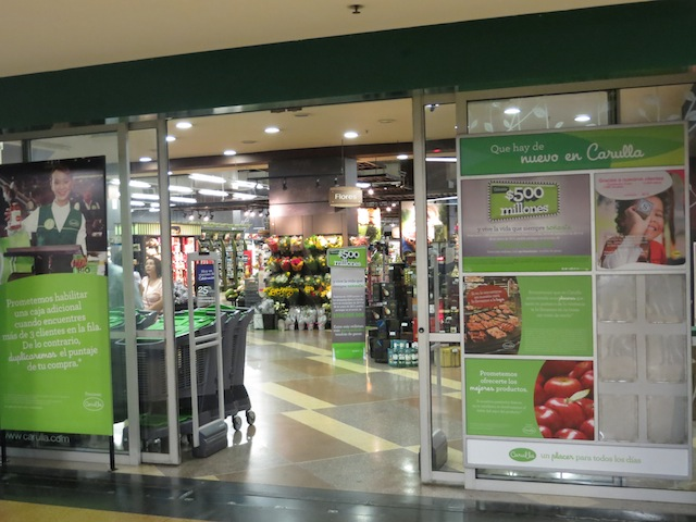 Carulla supermarket