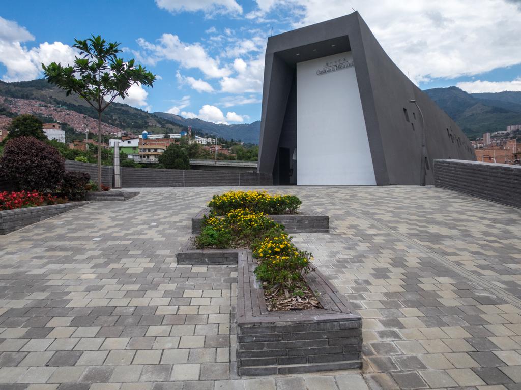 Entrance to Museo Casa de la Memoria