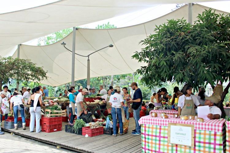 Farmer's Market in Medellin